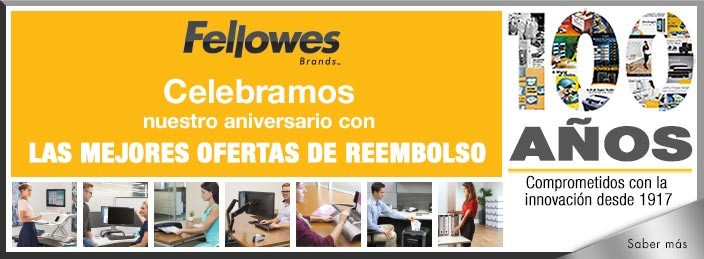 100 aniversario de Fellowes