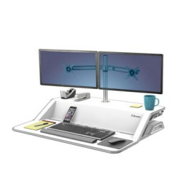 Brazo 2 monitores Sit Stand Lotus Fellowes 8042801