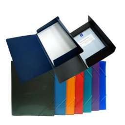 Carpeta gomas Din A-5 cololes surtidos Office Box 51015