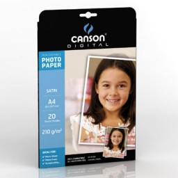 20HJ papel Satin Performance 210 g/m² Din A-4 Canson 200004322