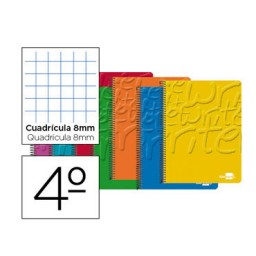 Cuaderno Write 4º c/8mm. Liderpapel 19376