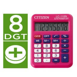 Calculadora LC-110N fucsia Citizen 51883