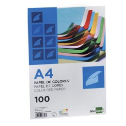 100 hojas papel rosa 80 g/m² Din A-4 Liderpapel 28246